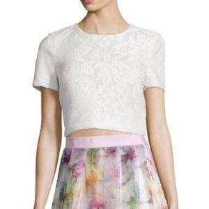 Ted Baker MAIRE Lace Crop Top